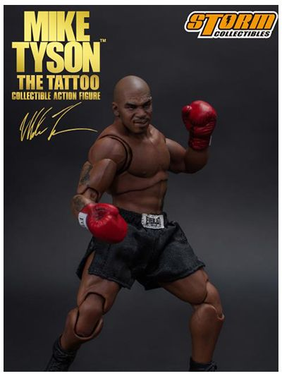 "Mike Tyson ""The Tattoo"" 1/12 Scale Collectible Action Figure - pr-04897072870930"