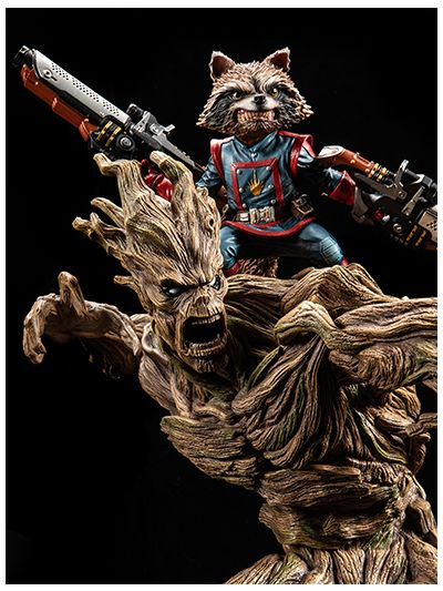 Guardians of the Galaxy Rocket Racoon and Groot - pr2018-0754