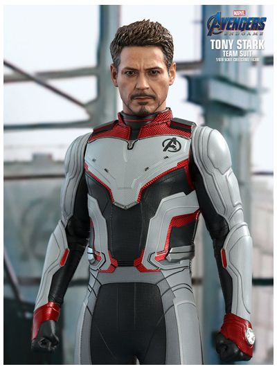 AVENGERS: ENDGAME TONY STARK (TEAM SUIT) 1/6TH SCALE COLLECTIBLE FIGURE - MMS537
