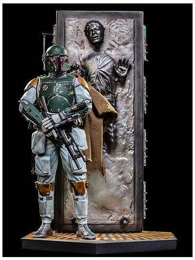 Boba Fett & Han Solo in Carbonite Deluxe Art Scale 1/10 - Star Wars - LUCSWR16319-10