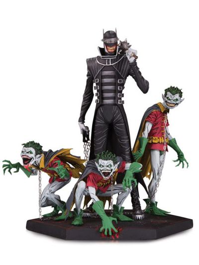 Dark Nights Metal Batman Who Laughs and Robins Deluxe Statue - DC35889