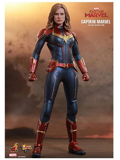 Captain Marvel - 1/6th scale Captain Marvel Collectible Figure - MMS521