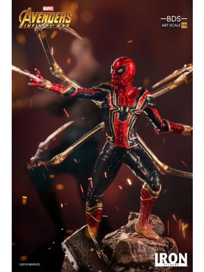 Iron Studios Iron Spider-Man BDS Art Scale 1/10 - Avengers: Infinity War - MARCWR11318-10