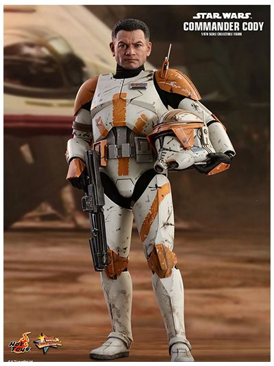HOT TOYS STAR WARS: EPISODE III REVENGE OF THE SITH COMMANDER CODY 1/6TH SCALE - MMS524