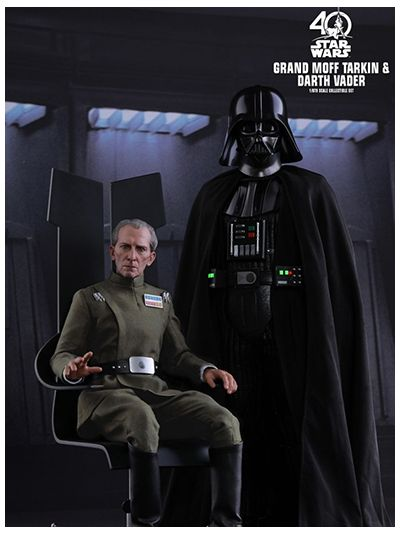 STAR WARS: EPISODE IV A NEW HOPE GRAND MOFF TARKIN & DARTH VADER 1/6TH SCALE COLLECTIBLE SET - MMS434