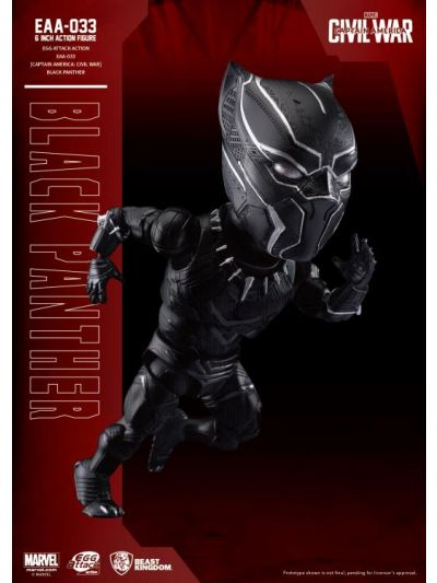 Civil War Egg Attack Action: Black Panther - EAA-033