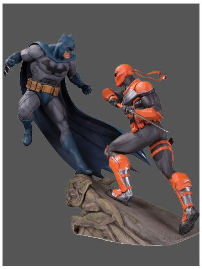 Batman vs. Deathstroke Battle Resin Statue - DC35595