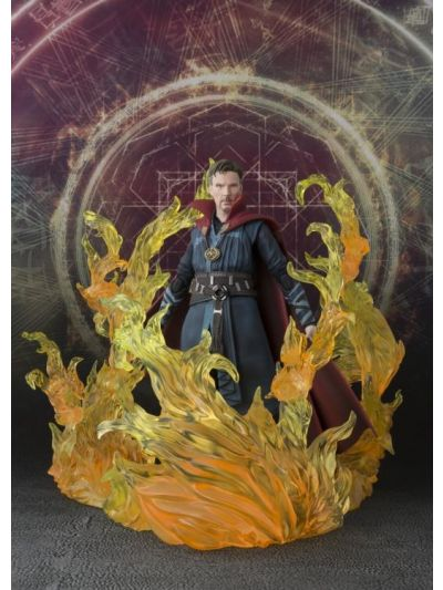 SH Figuarts Doctor Strange: Doctor Strange and Burning Flame Set - 27489