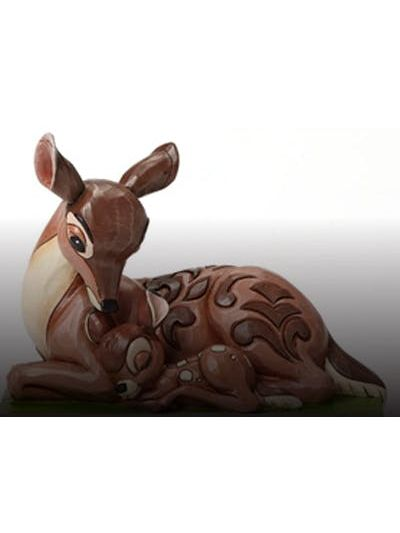 Enesco:Bambi with Mother ?Sleep Tight Young Prince? - 4049640