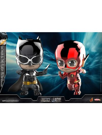 Justice League - Batman and The Flash (Metallic Color Version) - COSB398