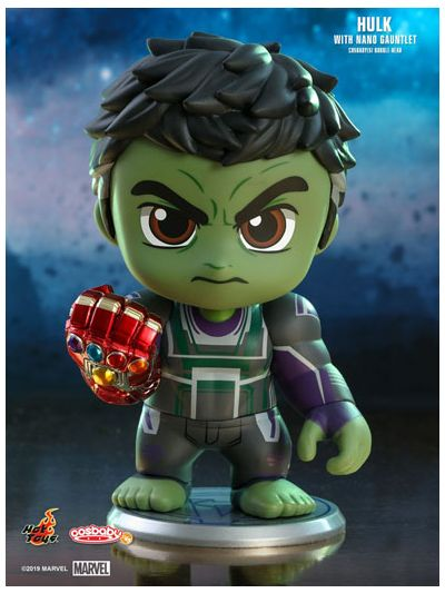 Hulk with Nano Gauntlet Cosbaby (S) Bobble-Head - COSB570