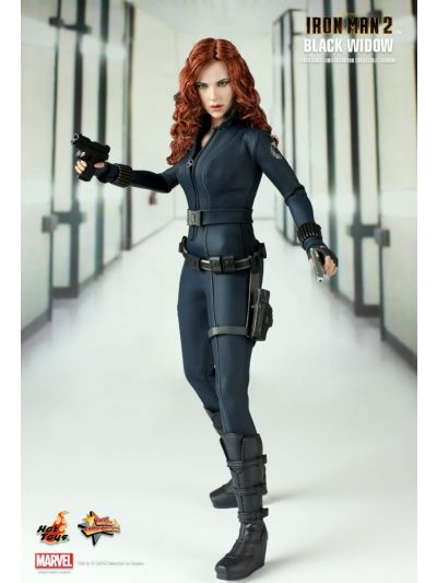 IRON MAN 2 BLACK WIDOW 1/6TH SCALE LIMITED EDITION COLLECTIBLE FIGURINE - MMS124