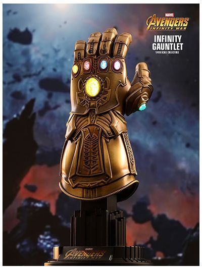 AVENGERS: INFINITY WAR INFINITY GAUNTLET 1/4TH SCALE COLLECTIBLE - ACS003