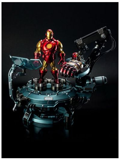 Marvel Comic - Iron Man Hall of Armor Set A (without two containers) Limited Edition - TL-006