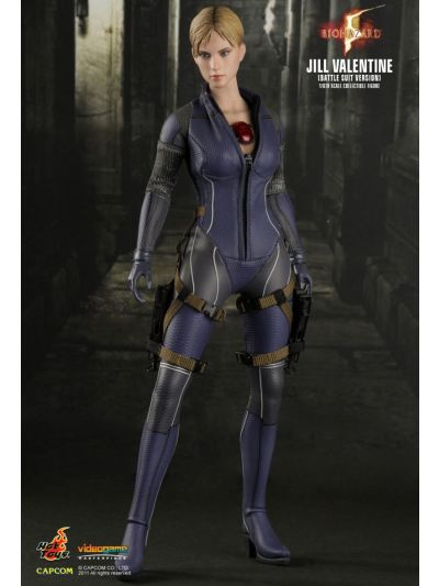 Hot Toys BIOHAZARD 5 JILL VALENTINE (BATTLE SUIT VERSION) 1/6TH SCALE COLLECTIBLE FIGURE - VGM13