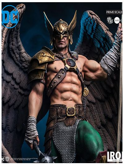 Hawkman Prime Scale 1/3 - DC Comics Series 4 by Ivan Reis OPEN and CLOSED WINGS Version - DCCDCG17419-13