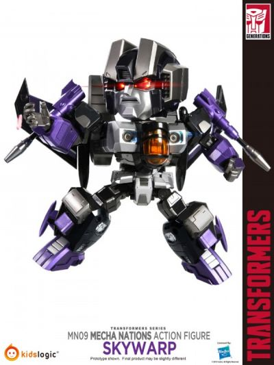 Transformers - Mecha Nations Skywarp Exclusive - MN-09