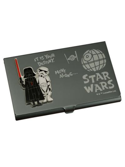 Star Wars Business Card Holder Darth Vader & Stormtrooper