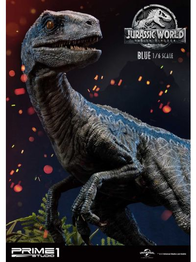 Prime 1 Studio Jurassic World Fallen Kingdom: Blue Sixth Scale Statue - LMCJW2-01