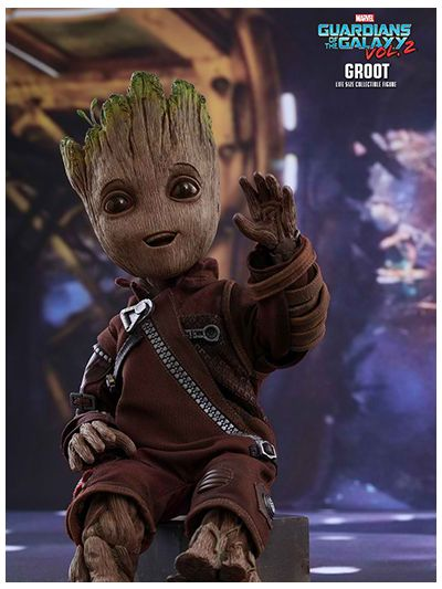 Hot Toys Guardians of the Galaxy Vol. 2 - Groot (Life-size Collectible Figure) - LMS004