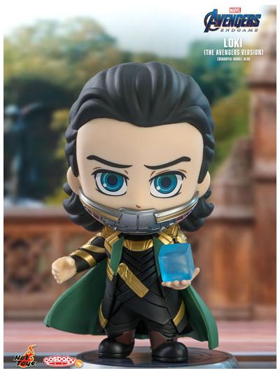 Loki (The Avengers Version) Cosbaby (S) Bobble-Head - COSB579