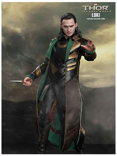 Hot Toys Thor The Dark World Loki MMS231SE