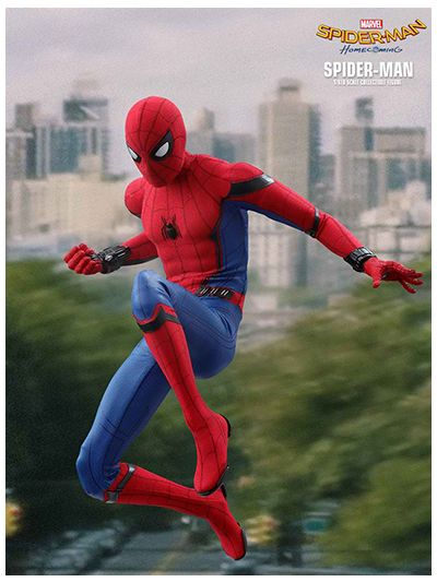 Hot Toys Spiderman: Homecoming - Spiderman (Regular Version) - MMS425