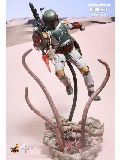 STAR WARS: EPISODE VI RETURN OF THE JEDI BOBA FETT (DELUXE VERSION) 1/6TH SCALE COLLECTIBLE FIGURE - MMS313