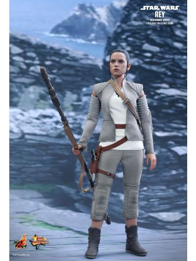 Star Wars Episode VII: The Force Awakens - Rey Solo in Resistant Outfit - MMS377