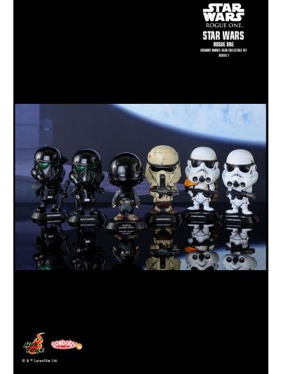 Cosbaby - Rogue One: A Star Wars Story Collectible Series(includes Shoretrooper and Deathtrooper commanding pose) - COSB329-335