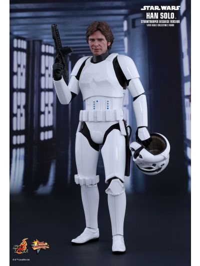 Hot Toys Star Wars: Episode IV - A New Hope - Han Solo (Stormtrooper Disguise Version) - MMS418