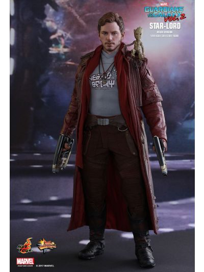Hot Toys Guardians of the Galaxy Vol. 2 - Starlord (Deluxe Version) - MMS421