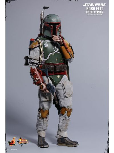 Hot Toys STAR WARS: EPISODE V THE EMPIRE STRIKES BACK BOBA FETT (DELUXE VERSION) 1/6TH SCALE COLLECTIBLE FIGURE - MMS464