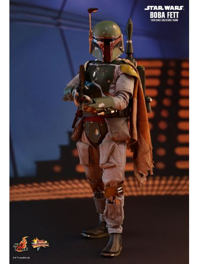 Hot Toys STAR WARS: EPISODE V THE EMPIRE STRIKES BACK BOBA FETT 1/6TH SCALE COLLECTIBLE FIGURE - MMS463