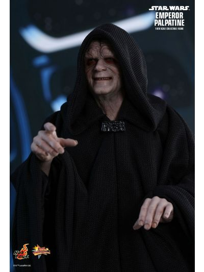 Hot Toys STAR WARS: EPISODE VI RETURN OF THE JEDI EMPEROR PALPATINE 1/6TH SCALE COLLECTIBLE FIGURE - MMS467