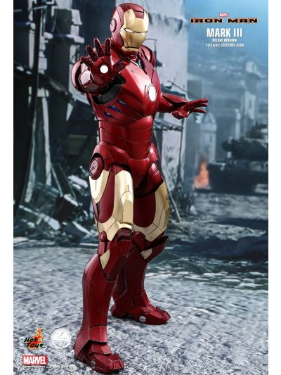Hot Toys Iron Man Mark III Deluxe Edition (1/4 Scale) - QS012