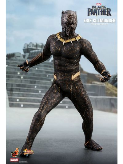 Hot Toys BLACK PANTHER ERIK KILLMONGER 1/6TH SCALE COLLECTIBLE FIGURE - MMS471