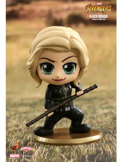 Cosbaby Black Widow Cosbaby (S) Bobble-Head - COSB434
