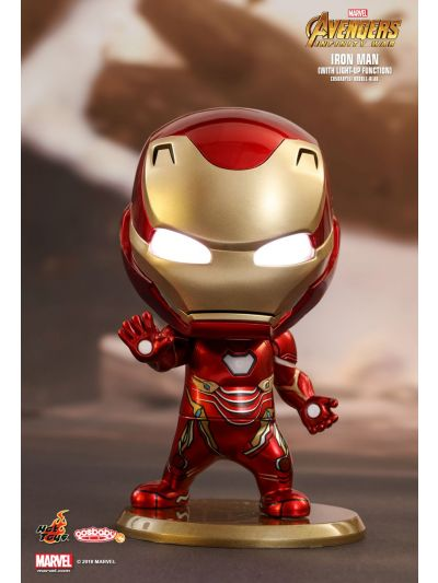 Cosbaby Iron Man Cosbaby (S) Bobble-Head (With light-up function) - COSB430