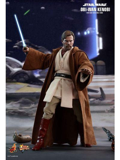 Hot Toys STAR WARS: EPISODE III REVENGE OF THE SITH OBI-WAN KENOBI 1/6TH SCALE COLLECTIBLE FIGURE - MMS477