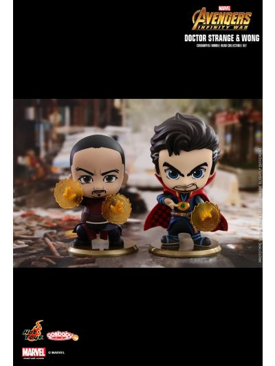 Cosbaby Doctor Strange & Wong Cosbaby (S) Bobble-Head Collectible Set - COSB467