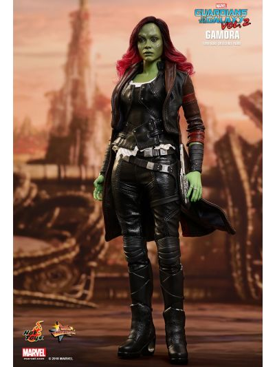 Hot Toys GUARDIANS OF THE GALAXY VOL. 2 GAMORA 1/6TH SCALE COLLECTIBLE FIGURE - MMS483