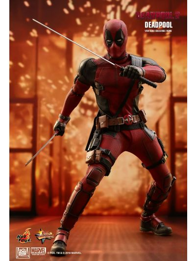 Hot Toys DEADPOOL 2 DEADPOOL 1/6TH SCALE COLLECTIBLE FIGURE - MMS490