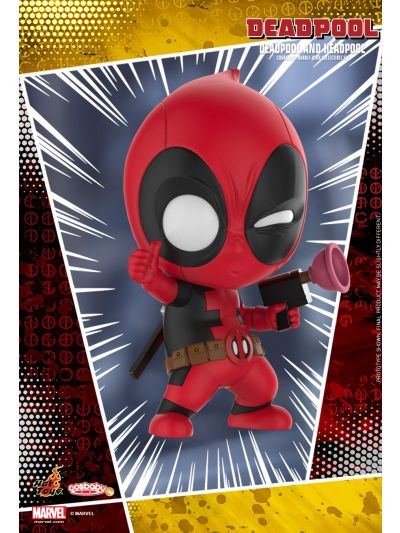 Cosbaby Deadpool and Headpool Cosbaby (S) Bobble-Head Collectible Set - COSB483
