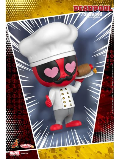 Cosbaby Chef Deadpool Cosbaby (S) Bobble-Head - COSB484
