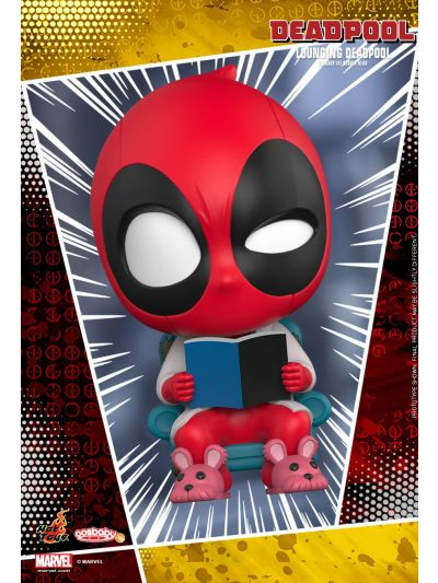Cosbaby Lounging Deadpool Cosbaby (S) Bobble-Head - COSB485