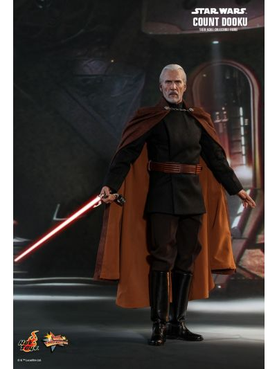 Hot Toys STAR WARS EPISODE II: ATTACK OF THE CLONES COUNT DOOKU 1/6TH SCALE COLLECTIBLE FIGURE - MMS496