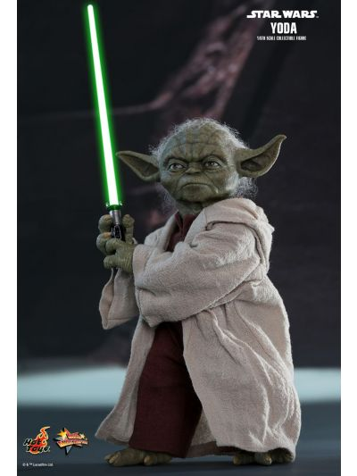 Hot Toys STAR WARS EPISODE II: ATTACK OF THE CLONES YODA 1/6TH SCALE COLLECTIBLE FIGURE - MMS495