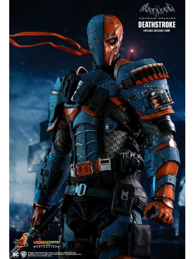 Hot Toys BATMAN: ARKHAM ORIGINS DEATHSTROKE 1/6TH SCALE COLLECTIBLE FIGURE - VGM30