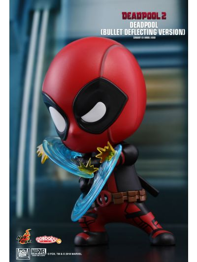 Cosbaby Deadpool (Bullet Deflecting Version) Cosbaby (S) Bobble-Head - COSB507